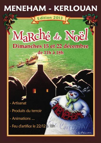 Flyer  - Marché de Noël 2013 - Avel Deiz
