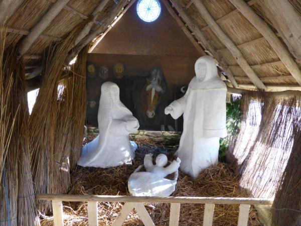 La crêche de Noël à Meneham- Marché de Noël 2013 - Avel Deiz